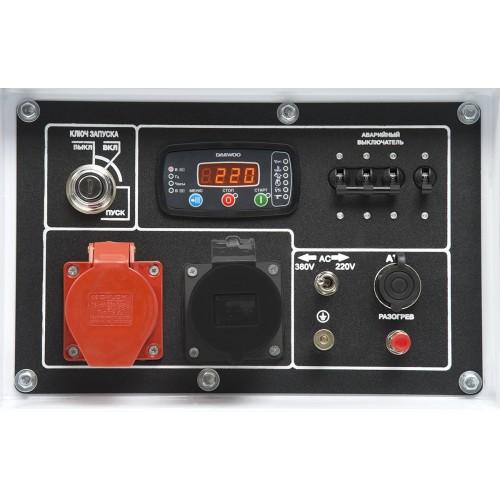 Дизельний електрогенератор Daewoo DDAE 10000DSE-3 Expert Line