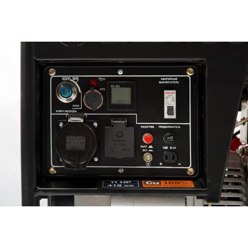 Дизельний електрогенератор Daewoo DDAE 6000XE Master Line