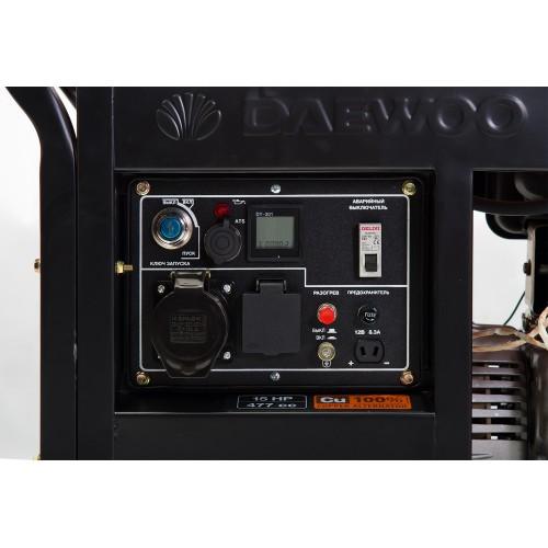 Дизельний електрогенератор Daewoo DDAE 9000XE Expert Line