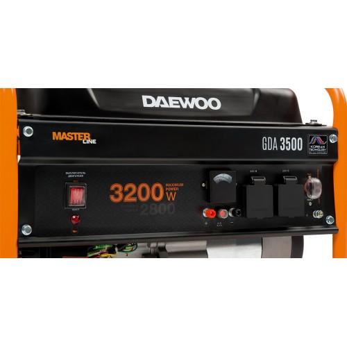 Бензиновий електрогенератор Daewoo GDA 3500 Master Line