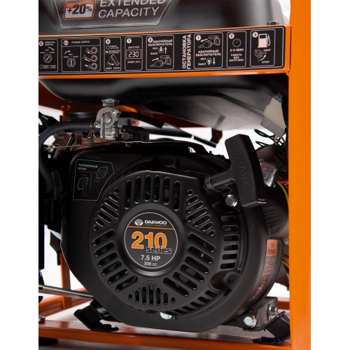 Бензиновий електрогенератор Daewoo GDA 3500E Master Line