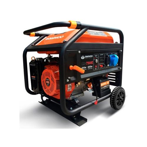Бензиновий електрогенератор Daewoo GDA 7500E (Expert) Expert Line