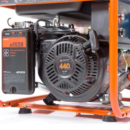 Бензиновий електрогенератор Daewoo GDA 8500E Expert Line