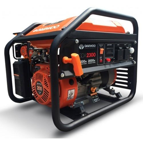 Бензиновий електрогенератор Daewoo GDA 2300 Expert Line