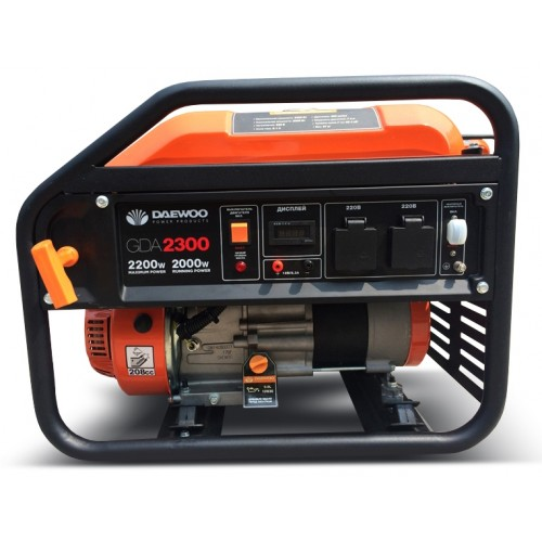 Бензиновий електрогенератор Daewoo GDA 2300 Expert Line уцінка