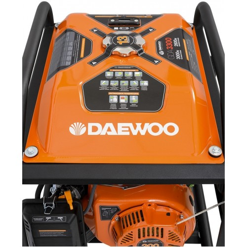 Бензиновий електрогенератор DaewooGDA 3300 Expert Line