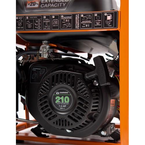 Двопаливний електрогенератор Daewoo GDA 3500DFE Master Line