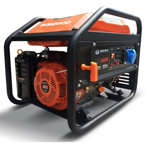 Бензиновий електрогенератор Daewoo GDA 6800 Expert Line уцінка