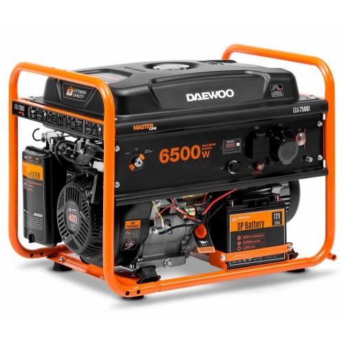 Бензиновий електрогенератор Daewoo GDA 7500E Master line