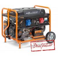 Бензиновый электрогенератор Daewoo GDA 8500DPE-3