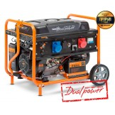 Бензиновий електрогенератор Daewoo GDA 8500DPE-3