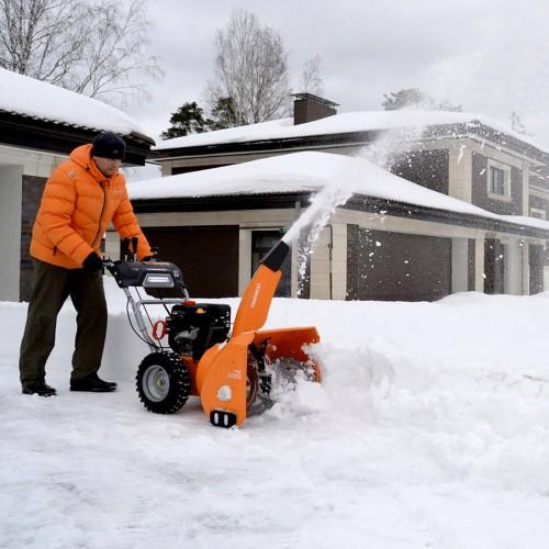 Бензиновий снігоприбирач Daewoo DAST 8570 Expert line