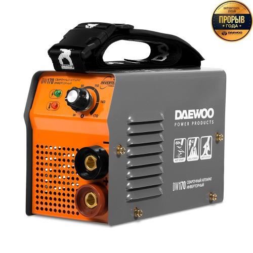 Інверторний зварювальний апарат Daewoo DW 170 Master line