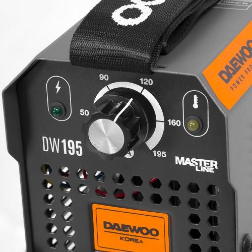 Зварювальний апарат Daewoo DW 195 Master line