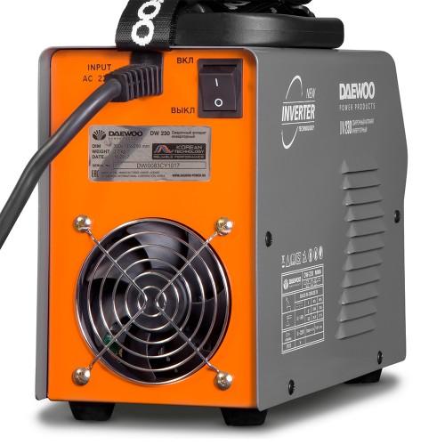 Інверторний зварювальний апарат Daewoo DW 230 Expert line