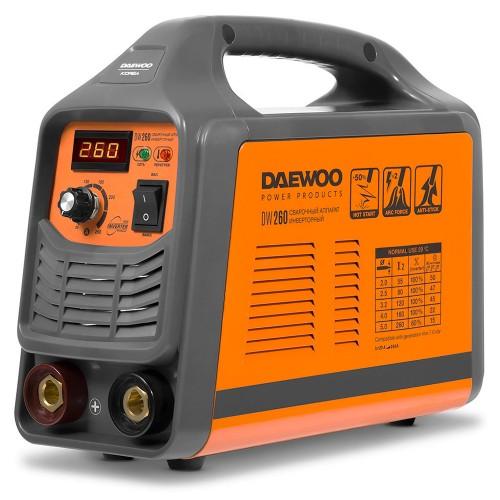 Інверторний зварювальний апарат Daewoo DW 260 Expert line